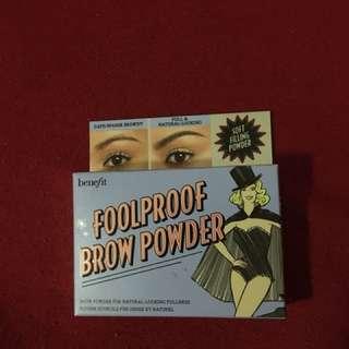 Benefit Brow Fool Proof Brow Powder