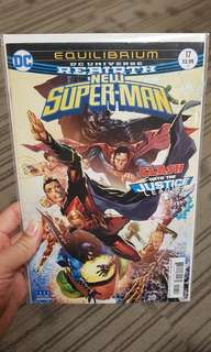DC Universe rebirth New Superman #17
