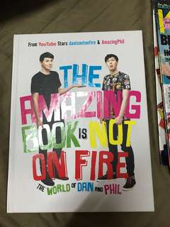 TABINOF - The amazing book is not on fire dan and phil
