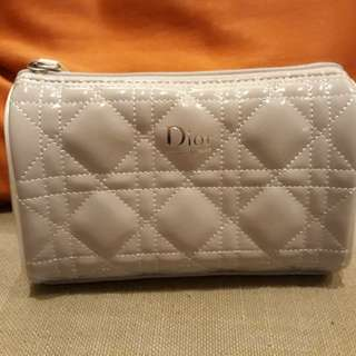 Dior 時尚銀 化妝包