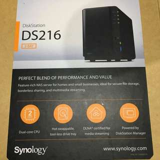 Synology DS216 2Bay