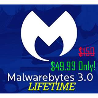 [INSANELY CHEAP!] LIFETIME Malwarebytes Premium! (Physical Copy)