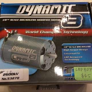 LRP Dynamic 8 2600 KV Brushless Motor
