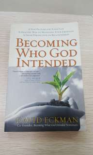 Becoming Who God Intended Book by David Eckman