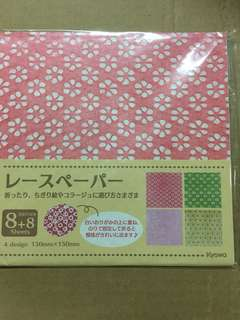 Clearance sale of japan lace craft paper