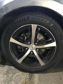 Michelin PS4 205/55/16 only use 3month