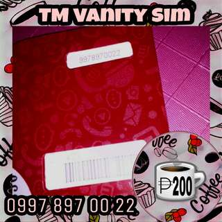 Touch Mobile TM Vanity Special Number Easy to Remember Sim