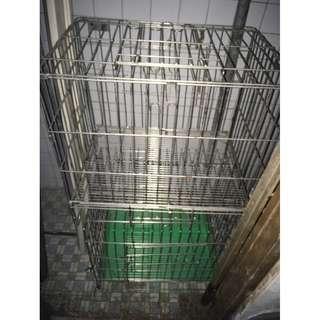 白鐵寵物籠*4