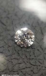 Diamond Gia Faint  Pink Round VS1