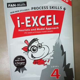 P4 & P5 Math i-Excel for heuristic and model drawing. New. top10 math writer.