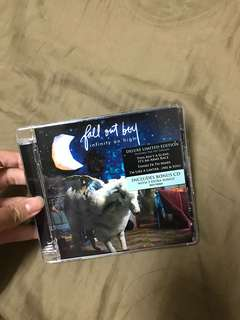 2 FALL OUT BOY ALBUMS - infinity on high & american beauty/american psycho