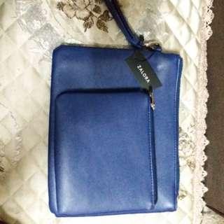 Zalora blue bags