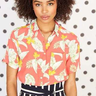 Hawaiian Beach Collar Shirt