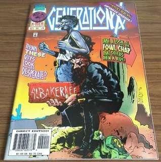 Generation X: #20, 21, 22 & 30 ($6 each)