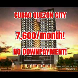 Studio Condo in Cubao