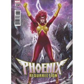 PHOENIX RESURRECTION RETURN JEAN GREY #3 LEE JEAN VARIANT