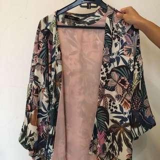 Outer Kimono Floral