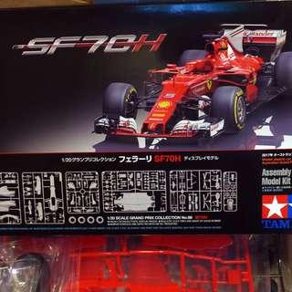 全新-Tamiya-20068-1/20-Ferrari SF70H- Australian GP 2017-M-300