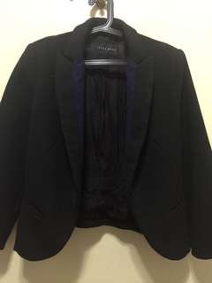 Zara Basic Black Blazer