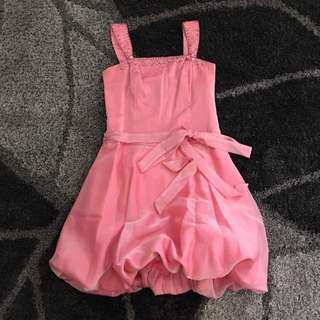 Pink Balloon Cocktail Dress