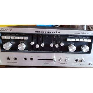 Marantz Amplifier model 1150