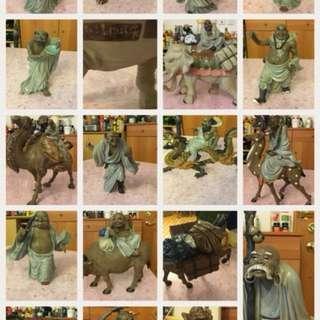 十八羅漢 古董 珍藏品 拍賣 古物