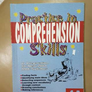 P4 English Comprehension main ideas. context skill