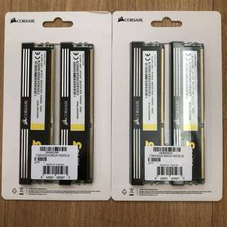 Corsair XMS3 DDR3 1600 2x2GB  SET RAM / Memory