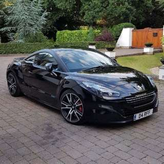 RCZ facelift for rent
