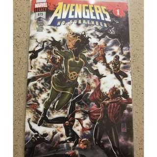 Avengers #675 Marvel Comics Lenticular Cover 1st app of Voyager