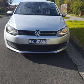 Vw polo desial  2012 one year rego 4 new tyers