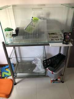 3ft Fish rack and tank