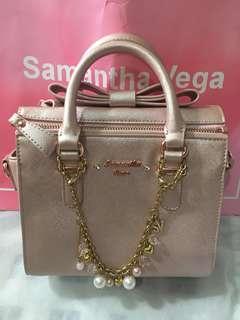 Samantha Vega Christmas Finola Metallics 手挽揹袋包necklace charm