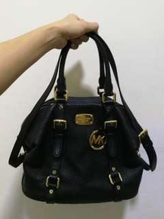 Genuine Michael Kors Leather Satchel