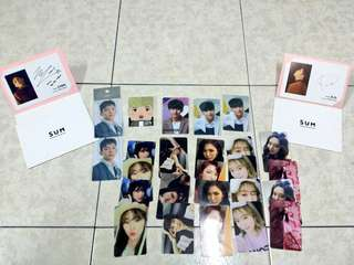 [ARRIVAL] EXO & RED VELVET OFFICIAL PHOTOCARDS ARRIVED.
