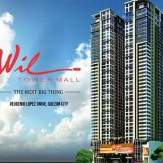 FOR SALE CONDO AT WILL TOWER MALL