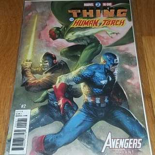 Marvel Two-In-One #2 Gabrielle Dell'Otto Avengers Variant
