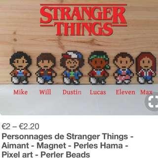 Stranger Things Netflix Hama Designs