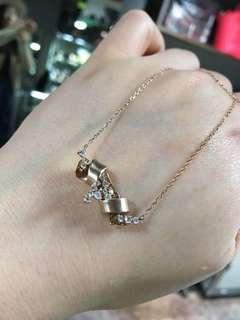 K18PG钻石💎项链