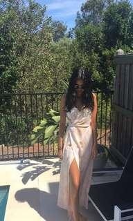 Dissh wrap maxi dress