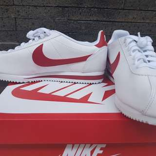 NIKE CORTEZ WHITE RED