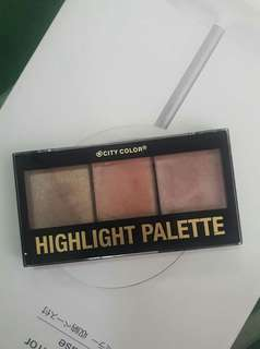 City Color Highlight Palette