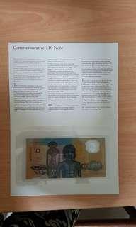 Australia commemorative banknote