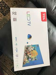 "32"" LED TV NEW WITH BOX"