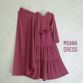 Pinky Moana Dress