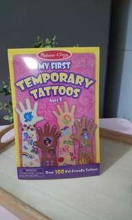 [FreeMail] Melissa & Doug Temporary Tattoos $10