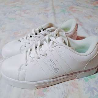 Original FILA white sneakers (free sf)