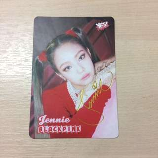 Blackpink - Jennie photocard
