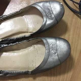 Coach flat shoes