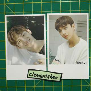 Seventeen 17 HITS Taiwan Press Photocard